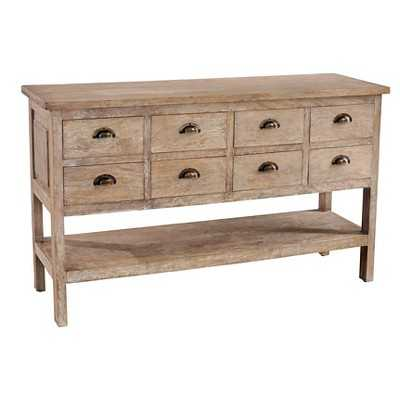 Ailene Side Board Wood/Rustic Mango Grey Wash - Casual Elements - Target