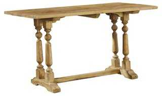"Prescott 57"" Console, Natural - One Kings Lane"
