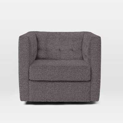 Rochester Swivel Armchair - West Elm