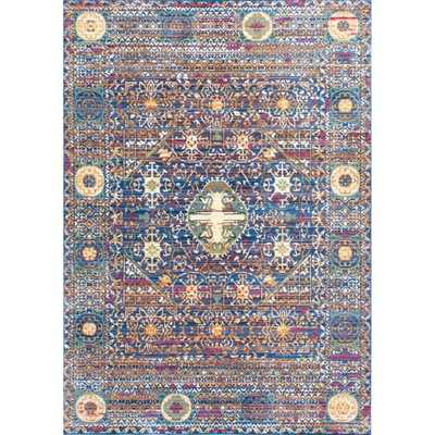 nuLOOM Traditional Intricate Persian Purple Rug - Overstock