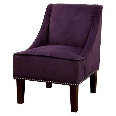 Hudson Swoop Chair - Solids - Target