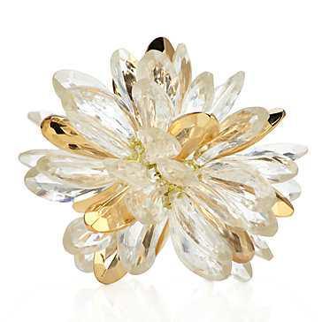 Crystal Flower Sphere - Z Gallerie