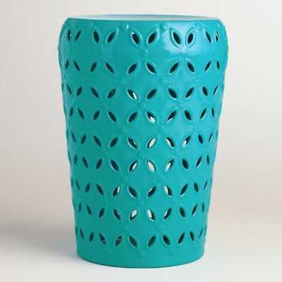Capri Punched Metal Lili Drum Stool - World Market/Cost Plus