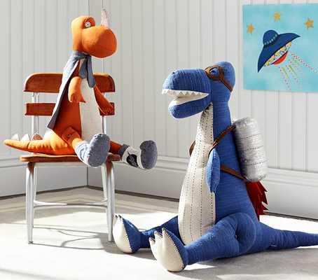 Small Dino Plush - Spike - Small - Pottery Barn Kids