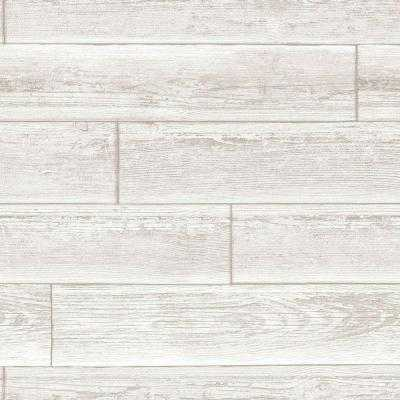 30.75 sq. ft. Serene Cream Peel and Stick Wallpaper - Home Depot