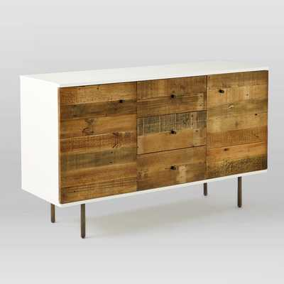 Reclaimed Wood + Lacquer Buffet - West Elm