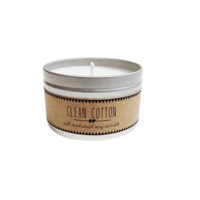 Clean Cotton Soy Candle - Domino