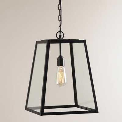 Four-Sided Glass Hanging Pendant Lantern - World Market/Cost Plus