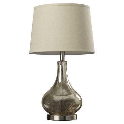 "Stark 24"" H Table Lamp with Empire Shade - Wayfair"