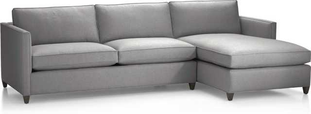 Dryden 2-Piece Sectional - Crate and Barrel