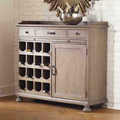 Draper 16-Bottle Wine Cabinet - Birch Lane