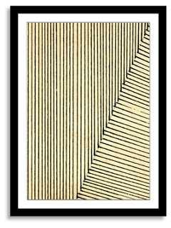 "NEO Collection, Angles IV - 18"" x 24""- Black frame- With mat - One Kings Lane"