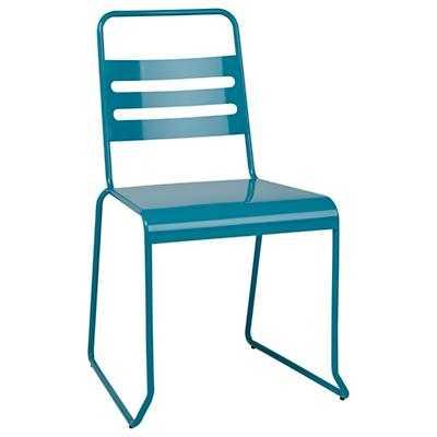 Homeroom Metal Disk Chair - Land of Nod