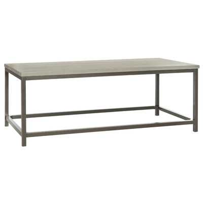 American Home Alec Coffee Table-Ash Grey - Wayfair