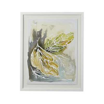 """Sway II Print - 20.25""""Wx25.25""""H - Framed - Crate and Barrel"""