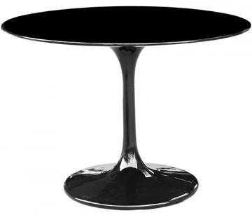 TRISTAN PEDESTAL TABLE - BLACK - Home Decorators