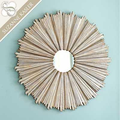 Suzanne Kasler D'or Sunburst Mirror - Ballard Designs