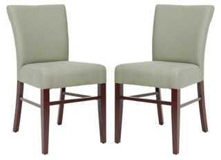 Granite Flynn Side Chairs, Pair - One Kings Lane