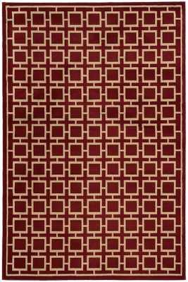"""PARISH AREA RUG-Red-7'10""""x10' - Home Decorators"""