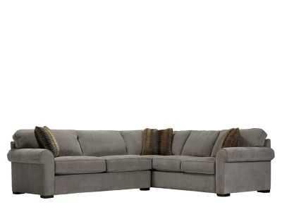 Kipling 2-pc. Chenille Sectional Sofa - Raymour Flanigan