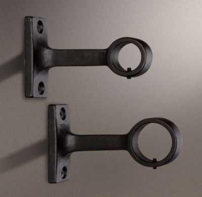 Dakota End Bracket (Set Of Two) - Soft Iron - RH