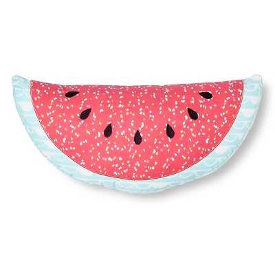 "Sabrina Sotoâ""¢ - Sophia Watermelon Throw Pillow - 18""x9"" - Pink (Polyester fill) - Target"