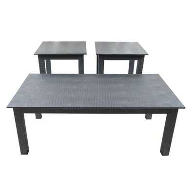 3 Piece Coffee Table Set - Wayfair