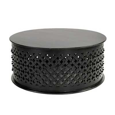 Bornova Coffee Table - Black - Ballard Designs