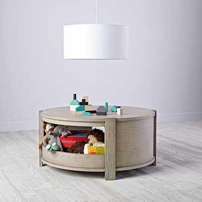 Rotunda Play Table (Grey Stain)Rotunda Play Table (Grey Stain) - Land of Nod