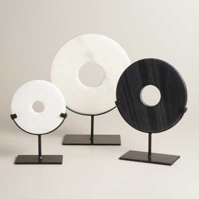 Marble Disc on Stand - Medium - World Market/Cost Plus