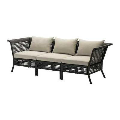KUNGSHOLMEN / HÅLLÖ Sofa, outdoor - Ikea
