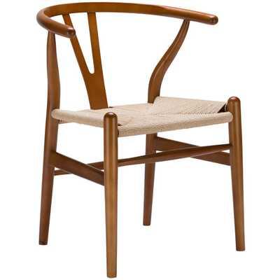 Weave Side Chair - Walnut - AllModern