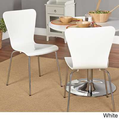 Simple Living Pisa Bentwood Chair (Set of 2) - Overstock