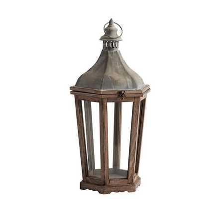 Park Hill Lantern, Medium - Pottery Barn