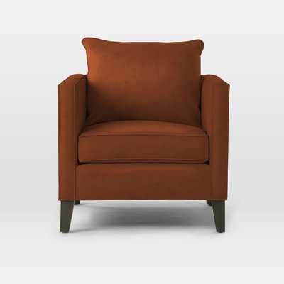 Dunham Down-Filled Armchair - Toss Back - West Elm