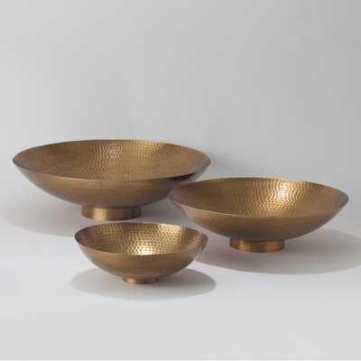 """4.25"""" H Indira Bowl - Brass - AllModern"""
