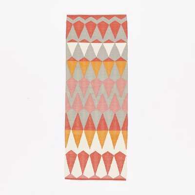 Margo Selby Zigzag Stripe Kilim Rug - West Elm
