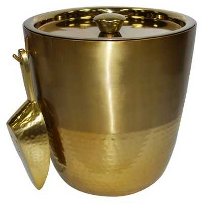 Gold Finish Ice Bucket - Target