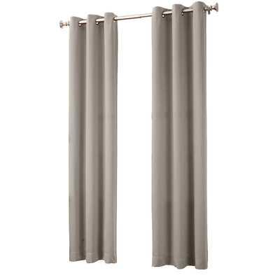 "Franklin Blackout Single Curtain Panel - 84"" L x 40"" W - Wayfair"