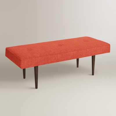 Bram Upholstered Bench - World Market/Cost Plus