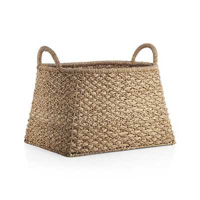Kelby Basket with Handles - Crate and Barrel