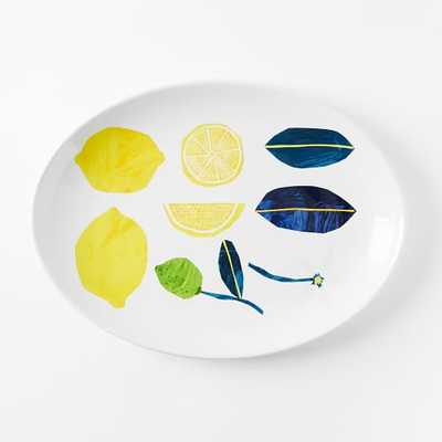Collector's Editions Plates - Yellow Lemon - West Elm