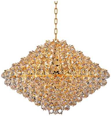 Vienna Full Spectrum Essa Crystal Pendant - Lamps Plus