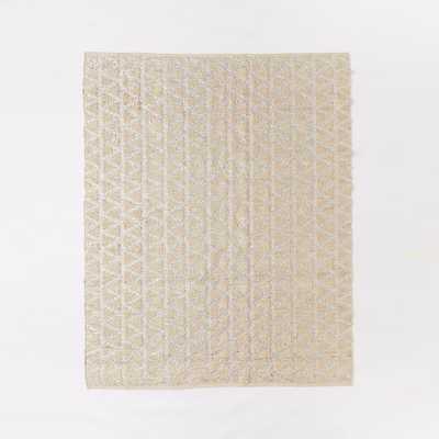 Shimmer Jute Rug - 8' x 10' - West Elm