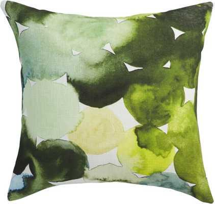 Transitions pillow - 20x20, Down Insert - CB2