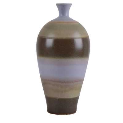 Spencer Striped Bell Vase - Wayfair