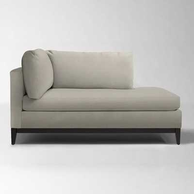 Blake Down-Filled Chaise - Right Arm - West Elm