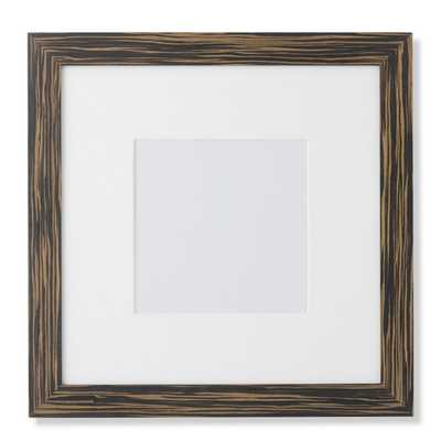 """Exotic Ebony Wood Gallery Picture Frame - 8"""" X 8"""" - Williams Sonoma Home"""