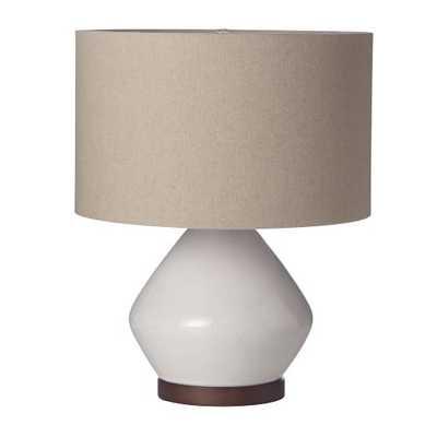 Mia Table Lamp - White - West Elm
