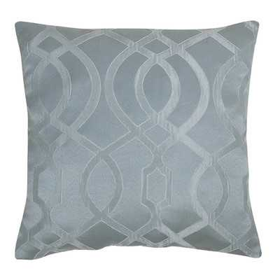 """Throw Pillow, Blue, Set of 2, 18"""" H x 18"""" W, Polyfill - Wayfair"""